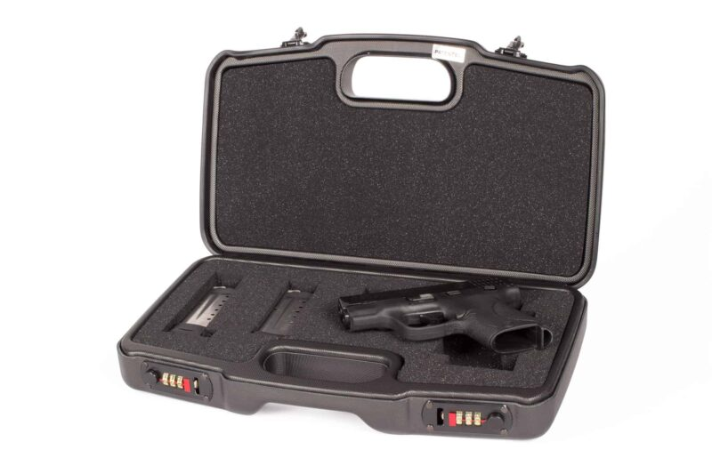 Negrini Gun Cases - Handgun Cases - 2018TS - Smith & Wesson M&P Shield