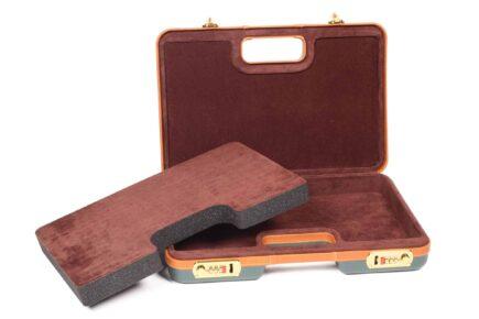 Negrini Gun Cases - Handgun Cases - 2023LX/4841 Interior pluck-n-pull foam