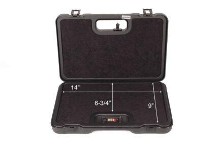 Negrini 2023UTS/4839 Universal Handgun Case Interior dimensions