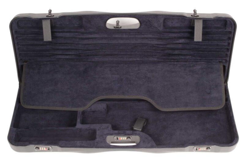 Negrini Shotgun Cases - 1652LR/5040 Tube Set high rib shotgun case top