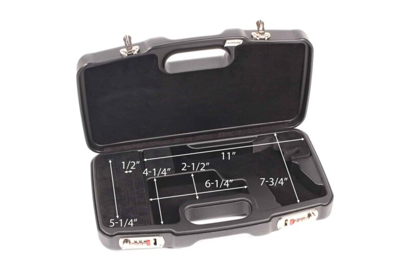 Model 1911 Handgun Case - 2018SR/5126 interior dimensions