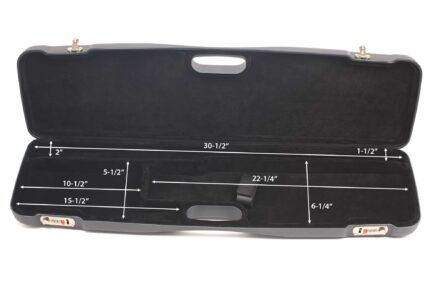 Negrini Shotgun Cases - 1605LR/5139 - Shotgun case for O/U or SXS interior dimensions