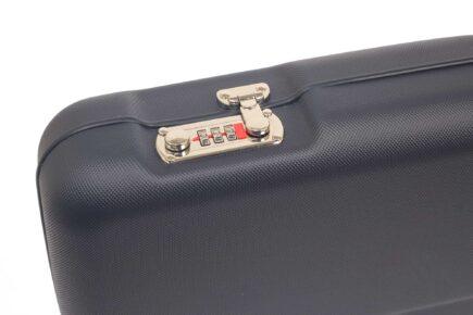 Negrini Shotgun Cases - 1605LR/5139 - Shotgun case closeup of lock
