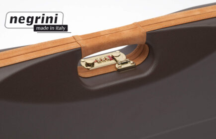 Negrini Shotgun Cases - 1602LX/4707 detail handle breakdown shotgun case