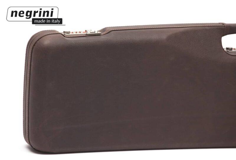 Negrini Shotgun Cases - 1602PL/4708 closeup of lock