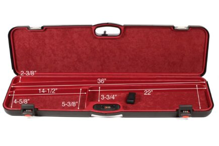 Negrini Takedown Shotgun Cases - Budget Trap combo 1603iS-2C/4782 interior dimensions