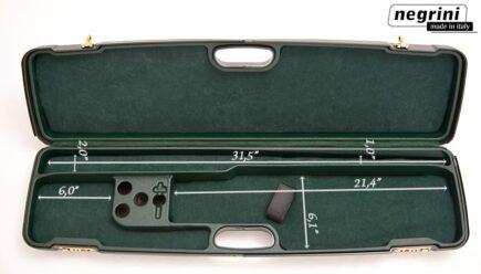 Negrini Shotgun Cases - 1605IS/4788 interior dimensions over under shotgun case