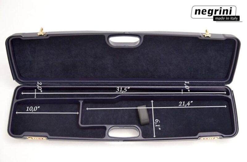 Negrini Shotgun Cases - 1605IS/4790 interior dimensions over under shotgun case