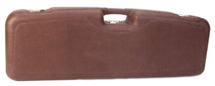 Negrini Shotgun Cases - 1622PL/5137 Two Gun Case - Exterior Full Italian Leather