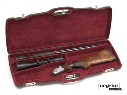 Negrini Rifle Cases - 1623PL-EXP/4815 One rifle with scope - Double rifle breakdown
