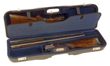 Two Shotguns + Three Barrel Case
