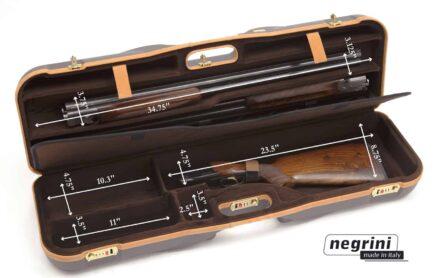 Negrini Shotgun Case - 1646LX-2C/4765 interior dimensions