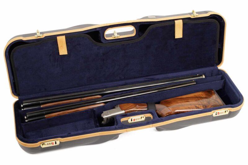 Negrini Shotgun Cases - 1646LX-3CC/4766 - Bottom two barrel Zoli Shotgun