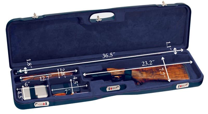 Negrini Shotgun Combo Case 1657LR/5162 interior dimensions