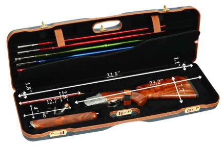 Negrini Shotgun Combo Case 1659LX-TS interior dimensions