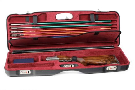 Negrini Gun Cases - Tube Set Case - 1659LR-TS/5160 Briley Tube Set + Zoli Shotgun