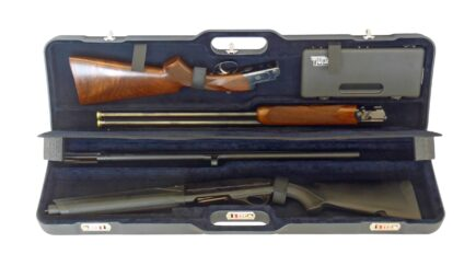 Negrini Shotgun Case 1677LR-TRANS/5044 interior