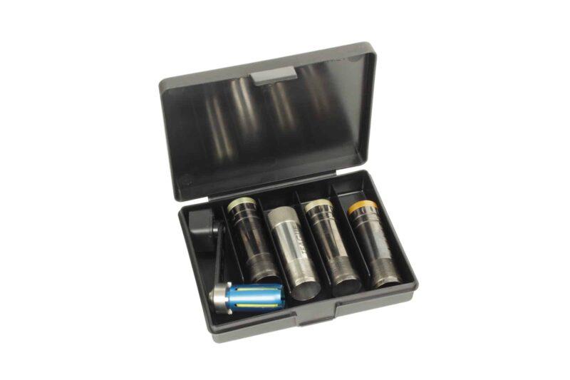 Negrini Choke Boxes - 3x Extended Chokes + Tool Case Storage