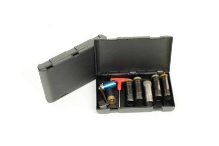 Negrini Choke Boxes - 5033-5 - 5x Extended Chokes + Tool Case Storage
