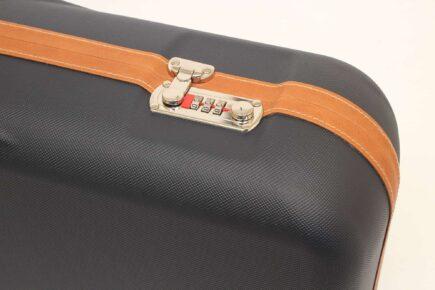 Negrini Gun Cases - 1646LX-4C - One Shotgun - Four Barrel takedown case lock closeup