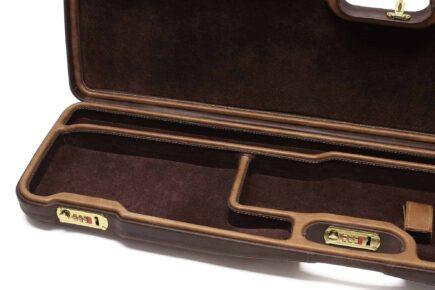 Negrini Shotgun Cases - 1602PPL/4709 interior closeup
