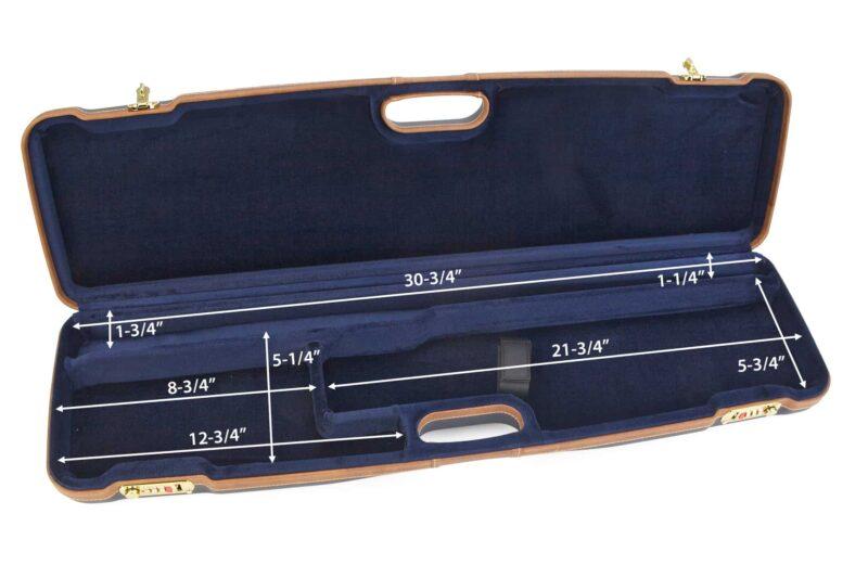 Negrini Shotgun Cases - 1605LX/5138 - Shotgun breakdown case interior dimensions