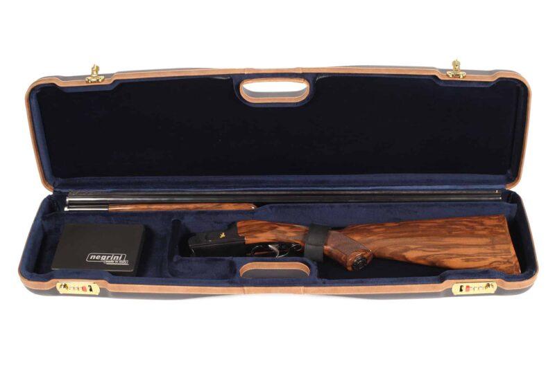 Negrini 1605LX/5138 OU/SxS Shotgun Case for Travel - Interior Zoli OU