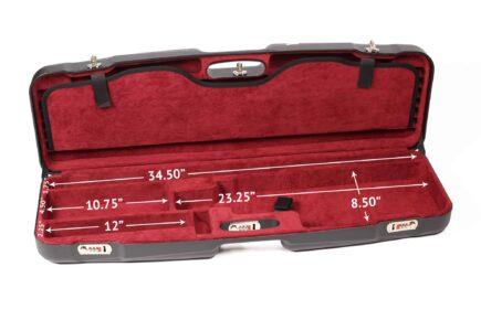 Negrini Gun Cases - 1622LR-TS - High Rib Shotgun interior bottom dimensions