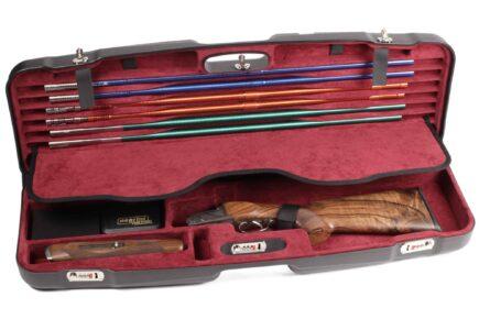 Negrini Shotgun Cases - 1622LR-TS - High Rib Shotgun case + Tube Sets Zoli Shotgun