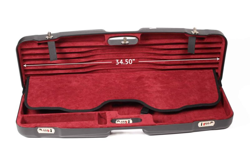 Negrini Gun Cases - 1622LR-TS - Interior top tube set dimension