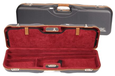 Negrini 1646LX-4C/5230 Deluxe four barrel set shotgun case
