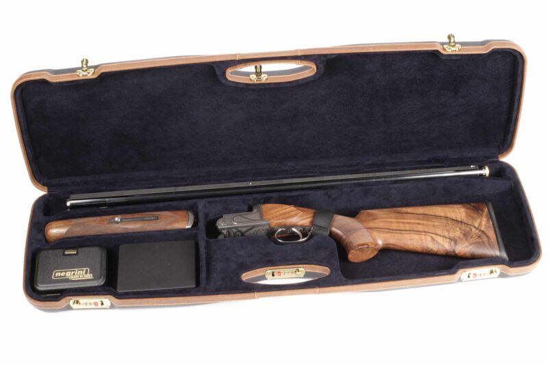 Negrini Shotgun Cases - 1654LX - High rib shotgun case - Zoli Shotgun