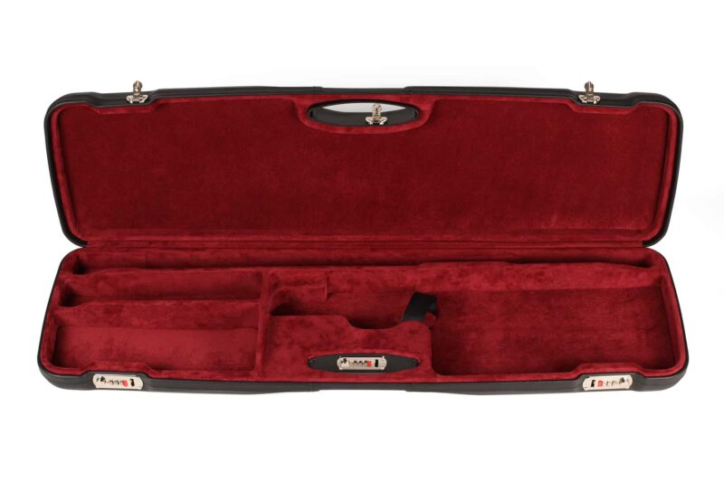 Negrini Sporter Leather shotgun case 1654PL/5246 interior