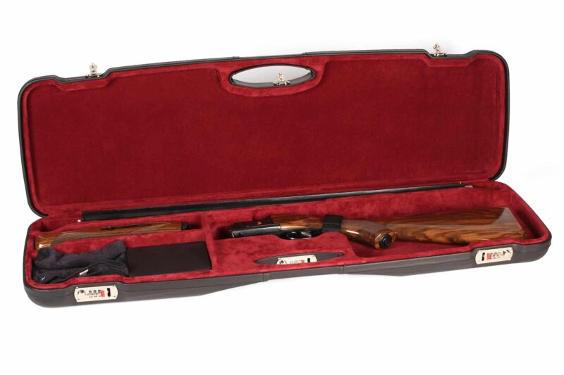 Negrini Sporter Leather shotgun case 1654PL/5246 Zoli Shotgun