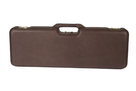 Negrini 1670PPL/5055 Superlative Italian Leather shotgun case - exterior