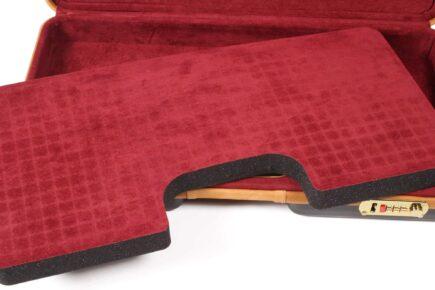 Negrini Gun Cases - Handgun Cases - 2027LX Two Handgun Case die cut foam