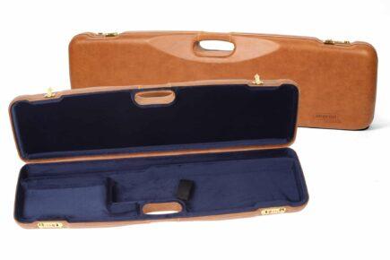 Negrini Gun Cases - 1605PL - Leather shotgun case thumbnail