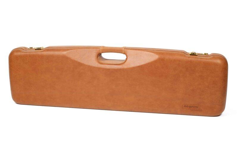 Negrini Gun Cases - 1605PL - Leather shotgun case exterior