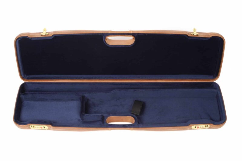Negrini Gun Cases - 1605PL - Leather shotgun case interior