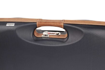 Negrini Shotgun Cases - Breakdown Shotgun Tube Set Case - Leather Trim & Handle