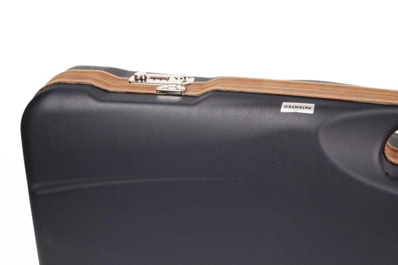 Negrini Shotgun Cases - Breakdown Shotgun Tube Set Case - Lock and Leather trim