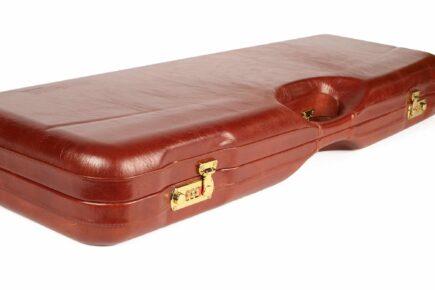 Leather Skeet Shotgun Case + Tube Set - 1659PL-TUBE/5246 sexy angle