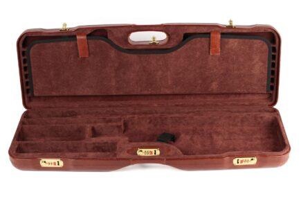 Leather Skeet Shotgun Case + Tube Set - 1659PL-TUBE/5246 interior bottom