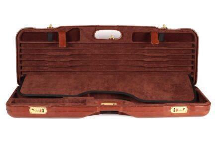 Leather Skeet Shotgun Case + Tube Set - 1659PL-TUBE/5246 interior top