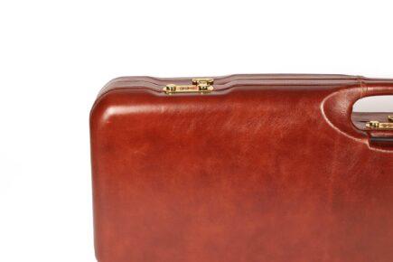 Leather Skeet Shotgun Case + Tube Set - 1659PL-TUBE/5246 lock