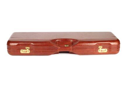 Leather Skeet Shotgun Case + Tube Set - 1659PL-TUBE/5246 top profile