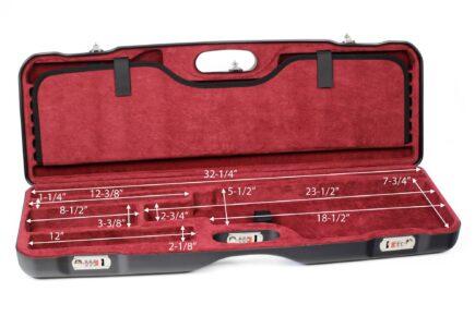 Negrini Skeet Tube Set Case 1659LR-TS/5160 bottom dimensions