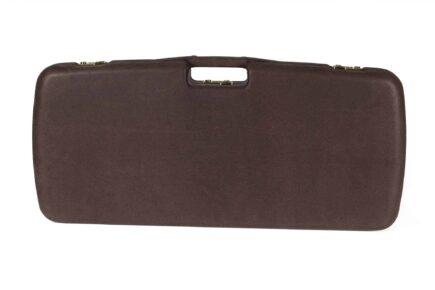 Negrini Luxury Leather Takedown Rifle Case - MOD.9PL-EXP/4828 exterior