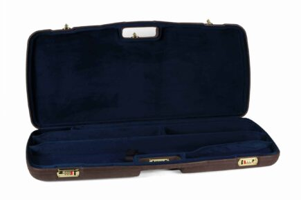 Negrini Luxury Leather Takedown Rifle Case - MOD.9PL-EXP/4828 interior