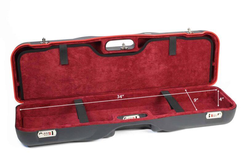 Negrini 1646LR-LUG/5288 Shotgun Luggage interior bottom dimensions